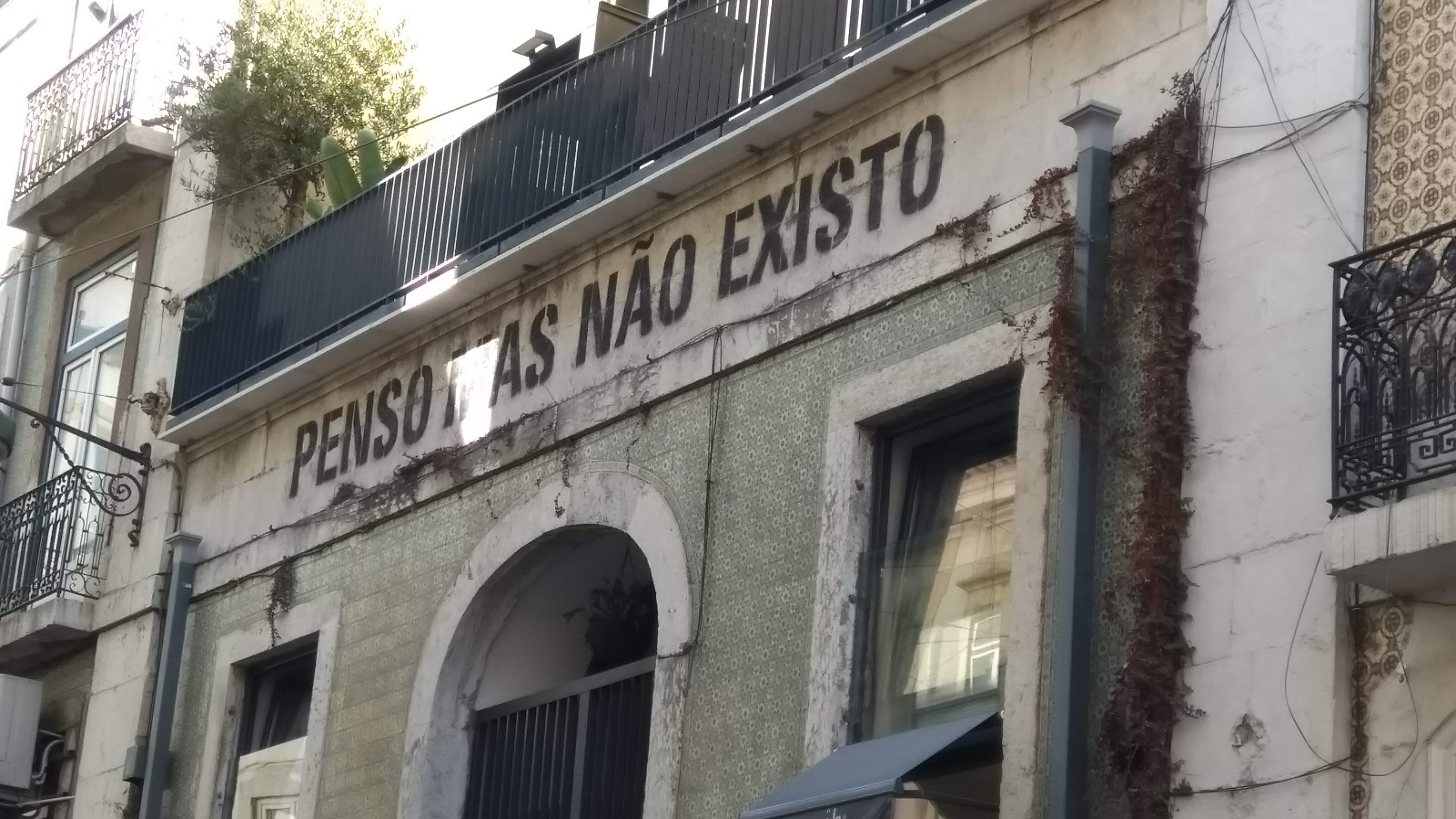 PiensoMasNãoExisto